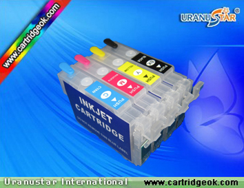 Epson T1811-1814,T1711-T1714 refillable ink cartridge