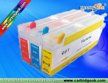 HP951 refillable ink cartridge
