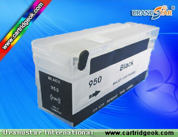 HP950 Black refillable ink cartridge